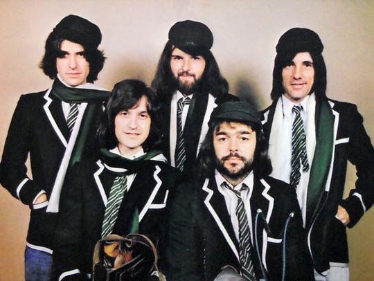"The Kinks from their 1975 album ""Schoolboys in Disgrace."""