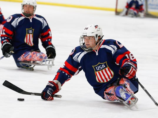 Declan Farmer To Lead Team USA At Sledge Hockey World Championship - Tourney Starts Today