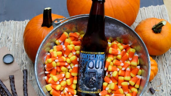 Pair candy corn with a pumpkin beer.