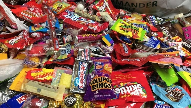 Sink your teeth into some Halloween candy.
