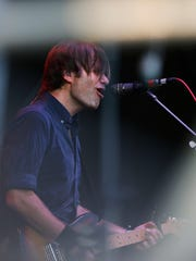 Death Cab for Cutie performs on the Mast stage at Forecastle.July 17, 2016