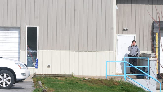 Dan's Fish Inc., 152 Jib St., was the subject of investigation on Wednesday morning in the Sturgeon Bay Industrial Park.