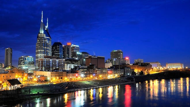 New office buildings underway such as 222 2nd are expected to further expand the downtown Nashville skyline.