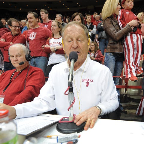 The voice of Indiana men's basketball Don Fischer...