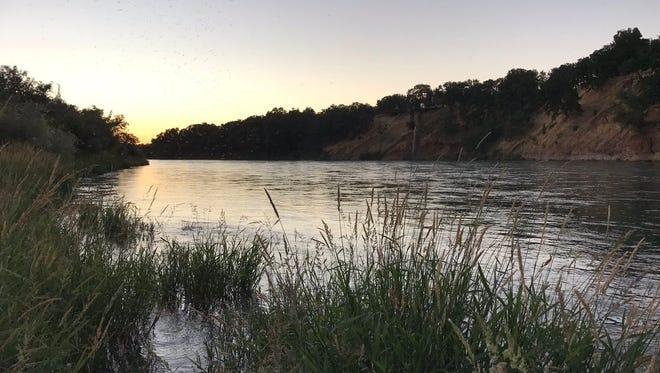 The Sacramento River near Anderson.