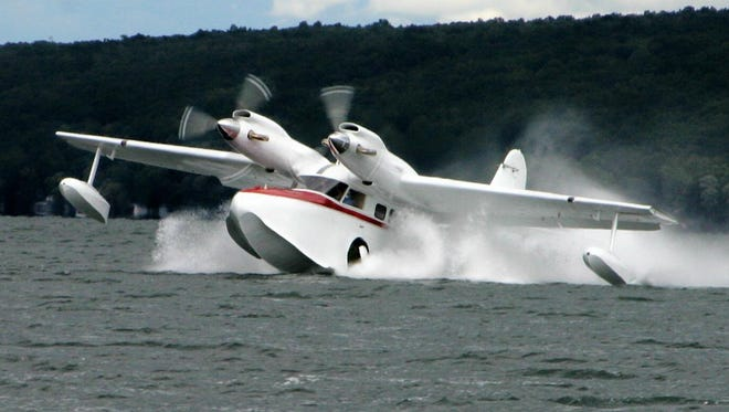 The Seaplane Homecoming returns to Hammondsport on Saturday.