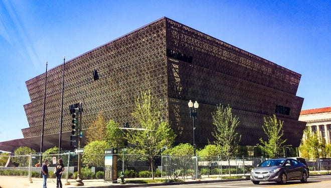 With the opening just days away, reporters and visual journalist got their first peek at the new Smithsonian National Museum of African American History and Culture during the media preview in Washington, D.C. on Wednesday, September 14, 2016.