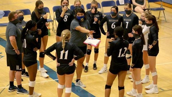 The Hutchinson High volleyball team is one of four Reno County schools who are ranked in the latest Kansas Volleyball Association rankings. Hutchinson is 8-0 to start the season.