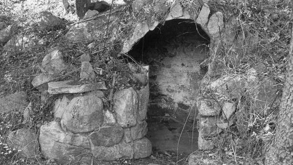 Eigil Dag Vesti's burned skeletal remains were discovered in this smokehouse on a Tomkins Cove estate. A black leather mask covered his face, his corpse partially eaten by animals. Vesti had been bound, whipped and shot twice in the back of his head.