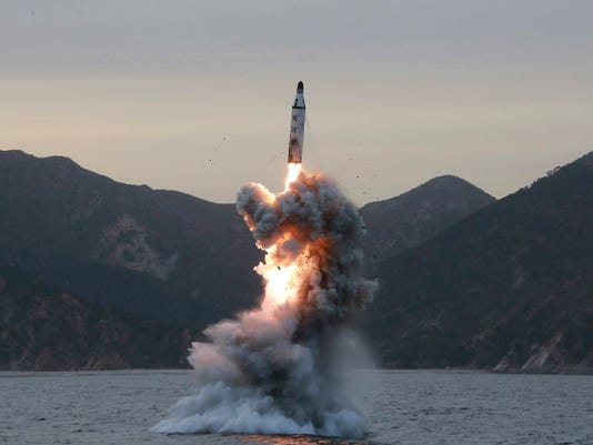 EPA (FILE) NORTH KOREA MISSILE LAUNCH POL CONFLICTS (GENERAL) DEFENCE KOR