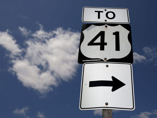 There will be no construction work on U.S. 41 near