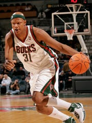 Bucks forward Charlie Villanueva had a great Bradley