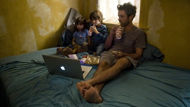 """Romain Duris in a scene from """"Chinese Puzzle."""""""