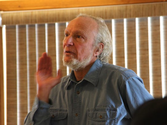 Chuck Madenjian, senior scientist with the U.S. Geological