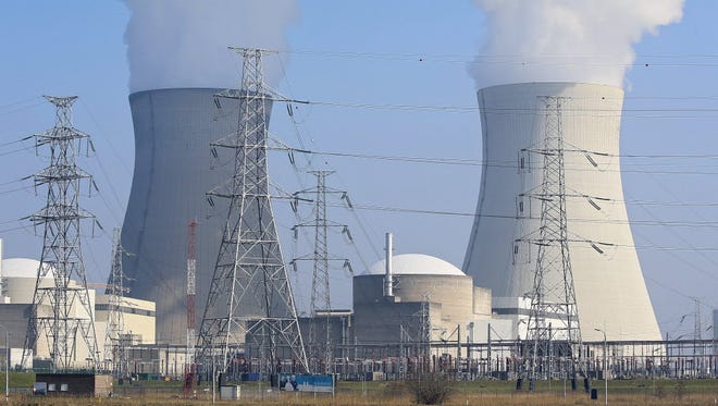 The Doel, Belgium, nuclear power plant on March 12, 2016.