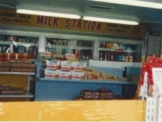 This undated photo shows the interior of Buckman's.
