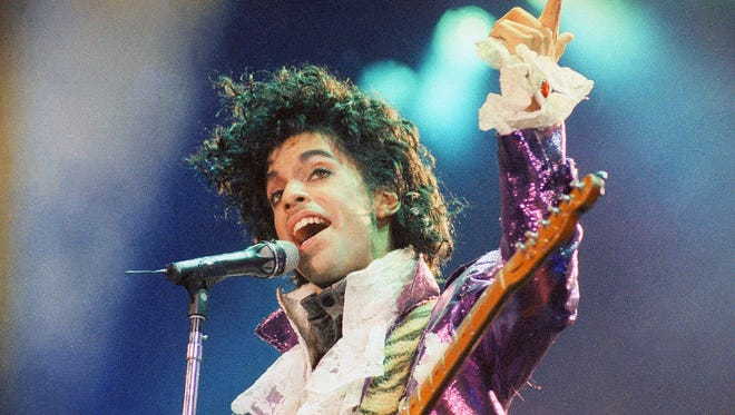 Prince in February 1985 in Inglewood, Calif.