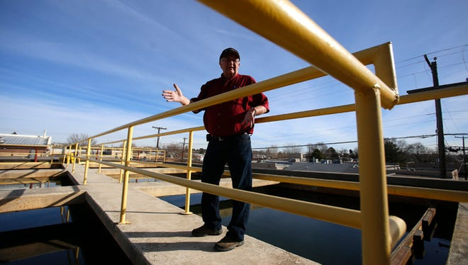 Bob Fredriksen, manager of  Water Treatment Plant No. 1 in Farmington, talks about the facility's operations Friday .