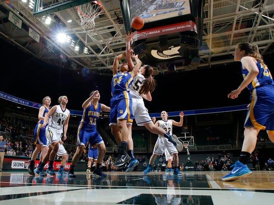 DeWitt vs Bloomfield Hills Marian MHSAA Girls Basketball Finals