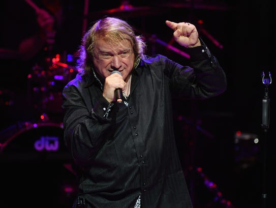 Lou Gramm performs at the Paradise Artists Party at