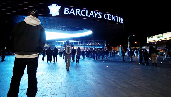 The Flyers make their first trip to Barclays Center