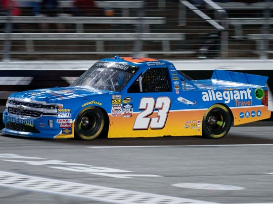 Spencer Gallagher has eight top-10 finishes in 21 Camping