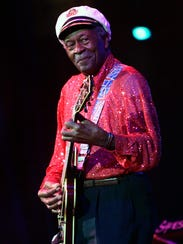 In this Saturday, May 30, 2009 file photo, Chuck Berry