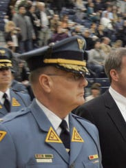 State Police Superintendent Col. Joseph Fuentes and