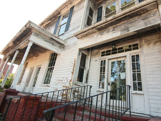The Wilhite House has fallen into disrepair in recent years. But for many years, it was one of downtown Anderson's grandest estates.