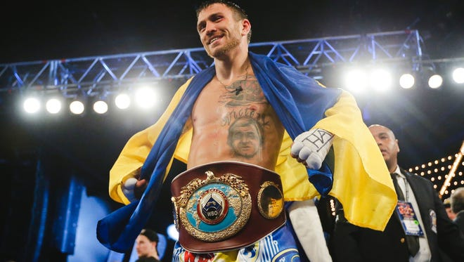 Boxer Vasyl Lomachenko lives in Camarillo and trains in Oxnard.