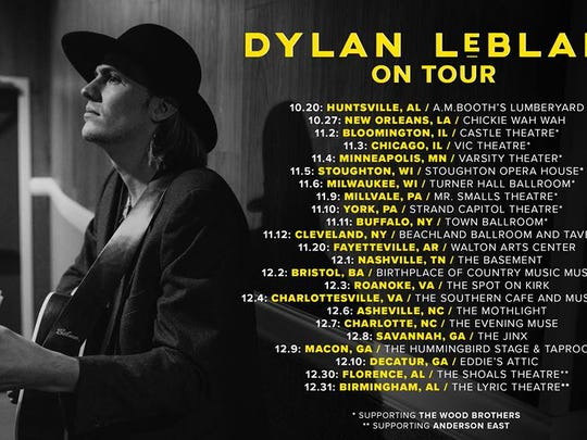 Catch Dylan Leblancin Nashville on December 1st