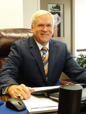 Jack Brown, Escambia County administrator