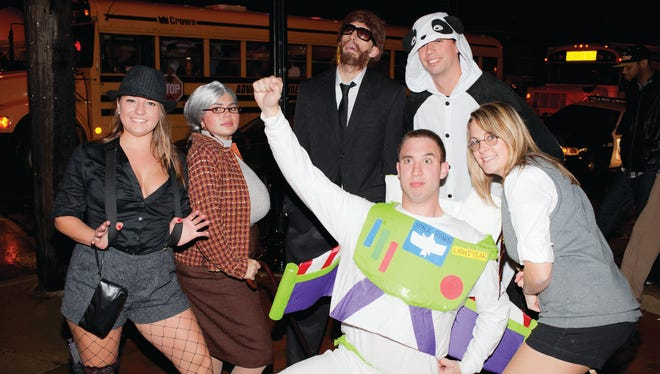 For the first time in about three decades, school buses won't ferry partiers for the Halloween Loop in Wilmington.