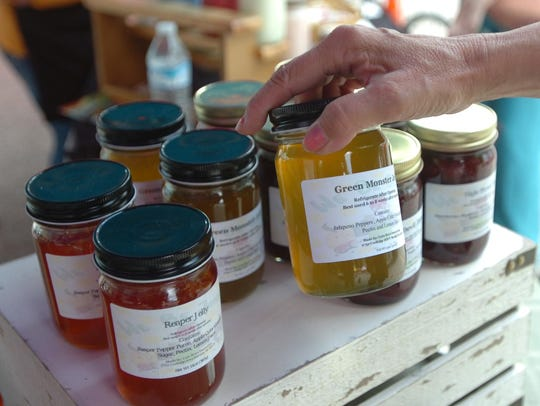 Lula Bre's Sweet Eats sells a line of jams and jellies