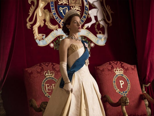 "Claire Foy in ""The Crown."" (Netflix)"