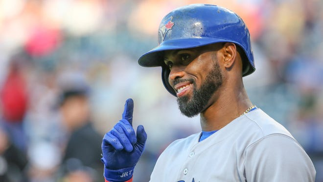 Jose Reyes is in his third season with the Blue Jays.