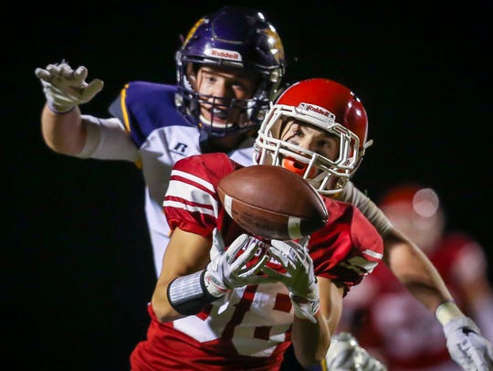 Webster City's Dylan Steen has 15 career interceptions entering the 2018 season, which is just nine away from tying the state's all-time 11-player record.