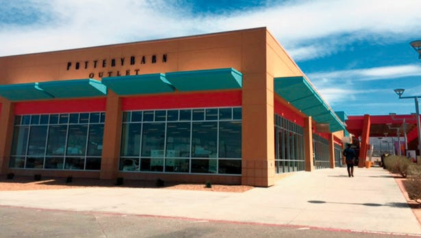 Williams-Sonoma Inc., is closing its Pottery Barn and Williams-Sonoma stores in The Outlet Shoppes at El Paso.