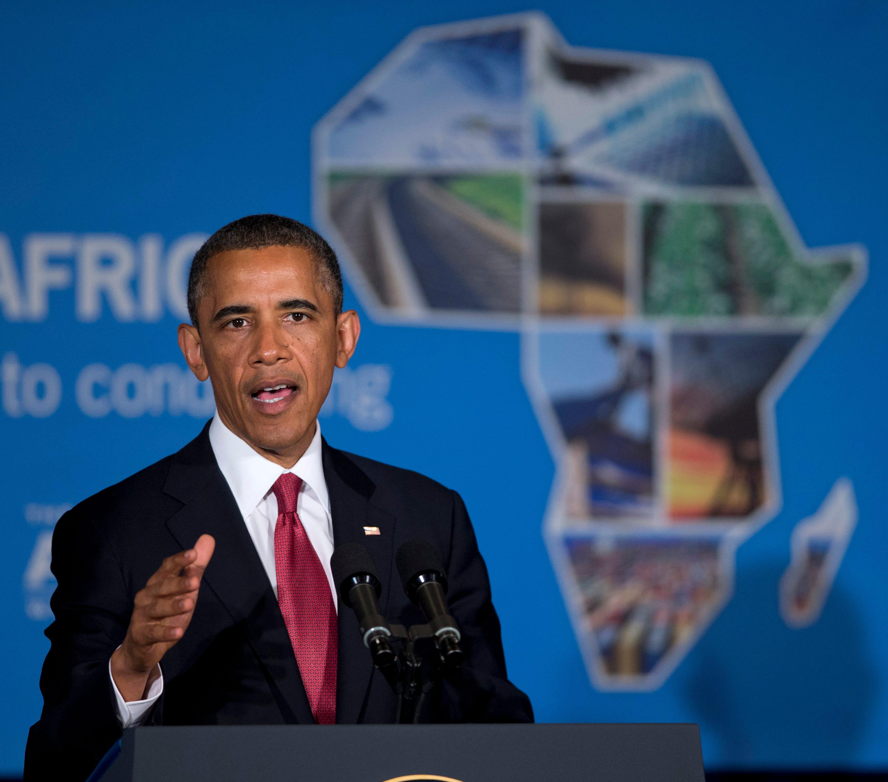 Obama U.S. Tanzania