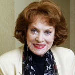"Maureen O'Hara, shown in 2004, appeared in such classics as ""The Quiet Man"" and ""How Green Was My Valley."""