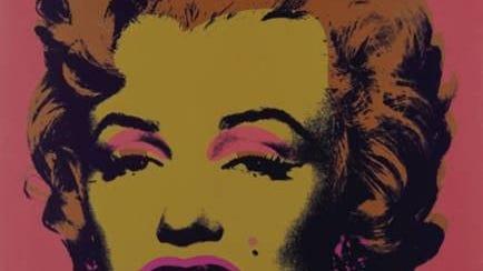 """Andy Warhol Portfolios: A Life in Pop"" includes his 1967 portrait of Marilyn Monroe."