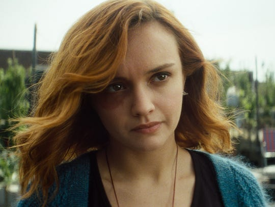 "Olivia Cooke stars as rebel leader Samantha in ""Ready Player One."""
