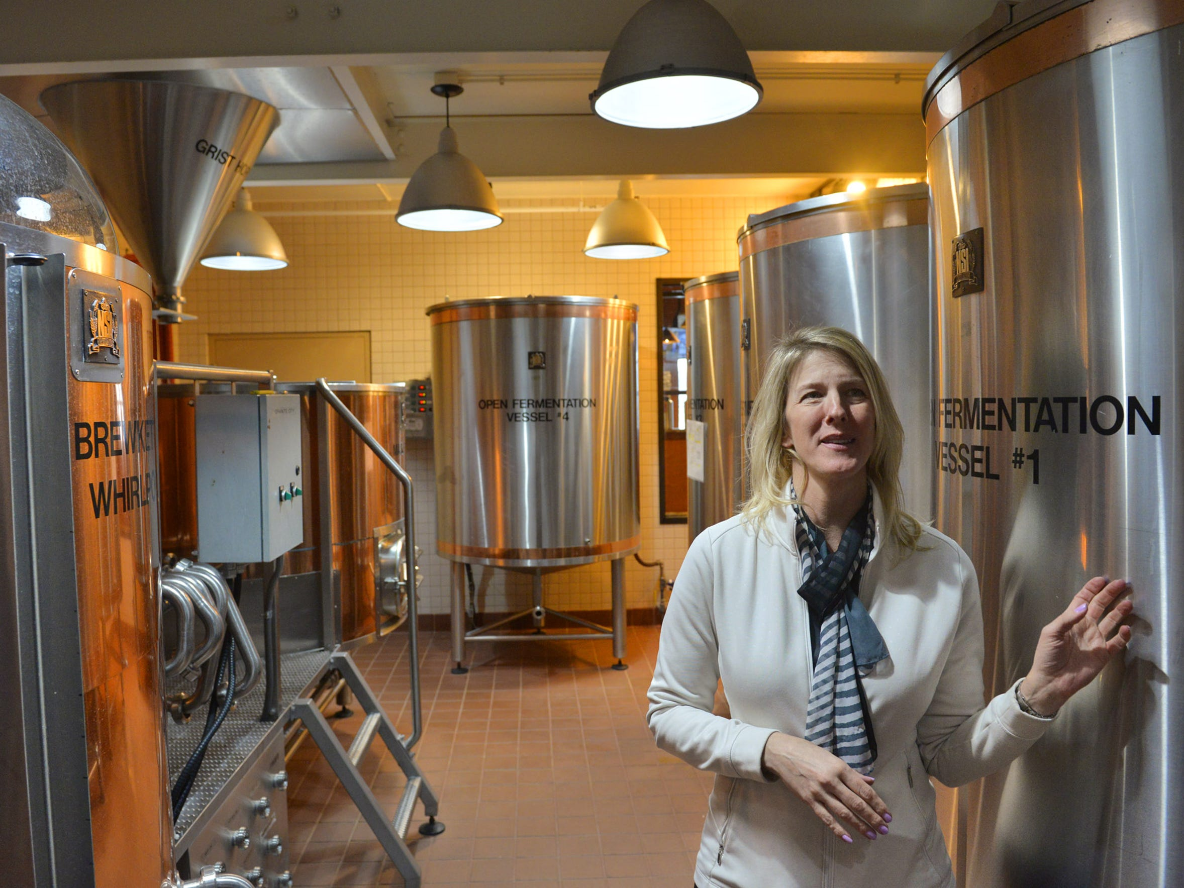 Granite City Food & Brewery General Manager Denise