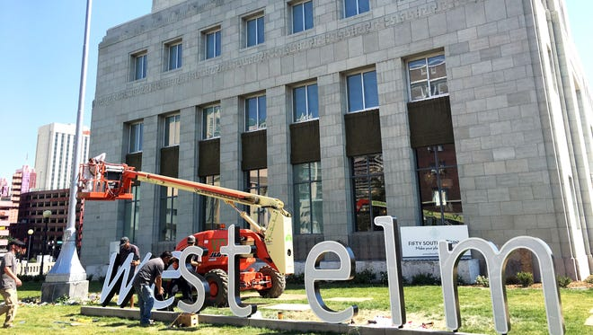 West Elm, the first major downtown Reno retailer in 30 years, will open Aug. 11, 2016. The exterior of the building is a preserved U.S. Post Office built in the 1930s.