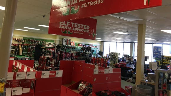 Merchandise in the Prattville Sears Hometown Store is up to 70 percent off during a going-out-of-business sale.