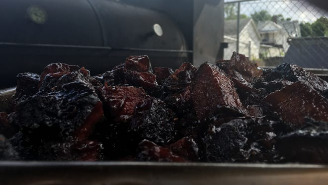 Saddleback BBQ will serve up burnt ends all day long on Friday, April 21.