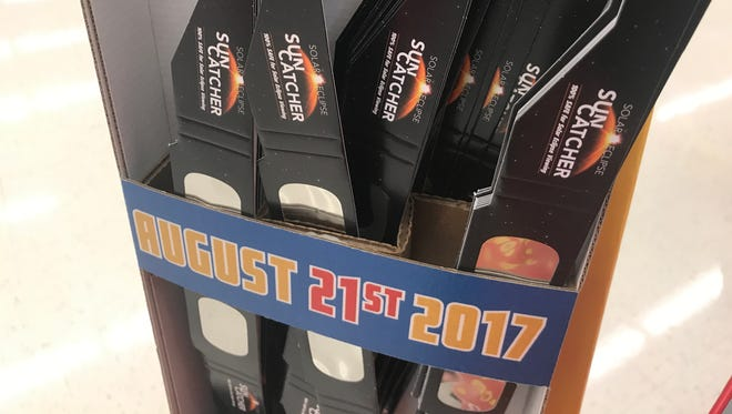 Solar eclipse glasses are a hot commodity as the nation gears up for the Aug. 21 solar eclipse.