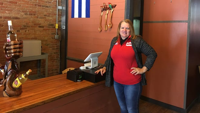 La Cocina Cubana co-owner and chef Illiana Almaguer-Tamayo emigrated from Cuba to the U.S. in 2004. The restaurant opens Monday, Dec. 18 at 123 S. Washington Square in downtown Lansing.