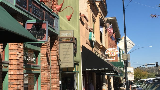 Historic Whiskey Row is one of the most popular tourist destinations in Arizona.
