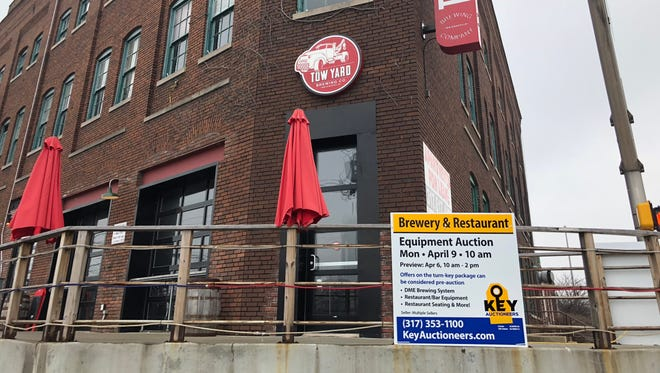 Tow Yard Brewing is located at 501 S. Madison Ave. in Downtown Indianapolis, March 17, 2018.